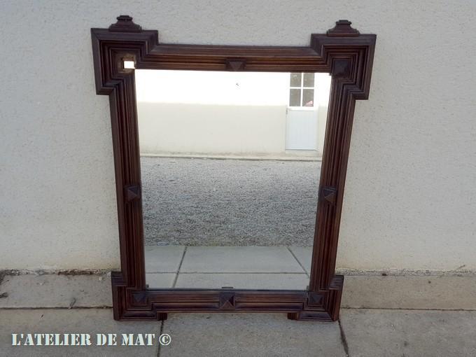 Comment rajeunir en quelques tapes un vieux miroir for Comme dans un miroir
