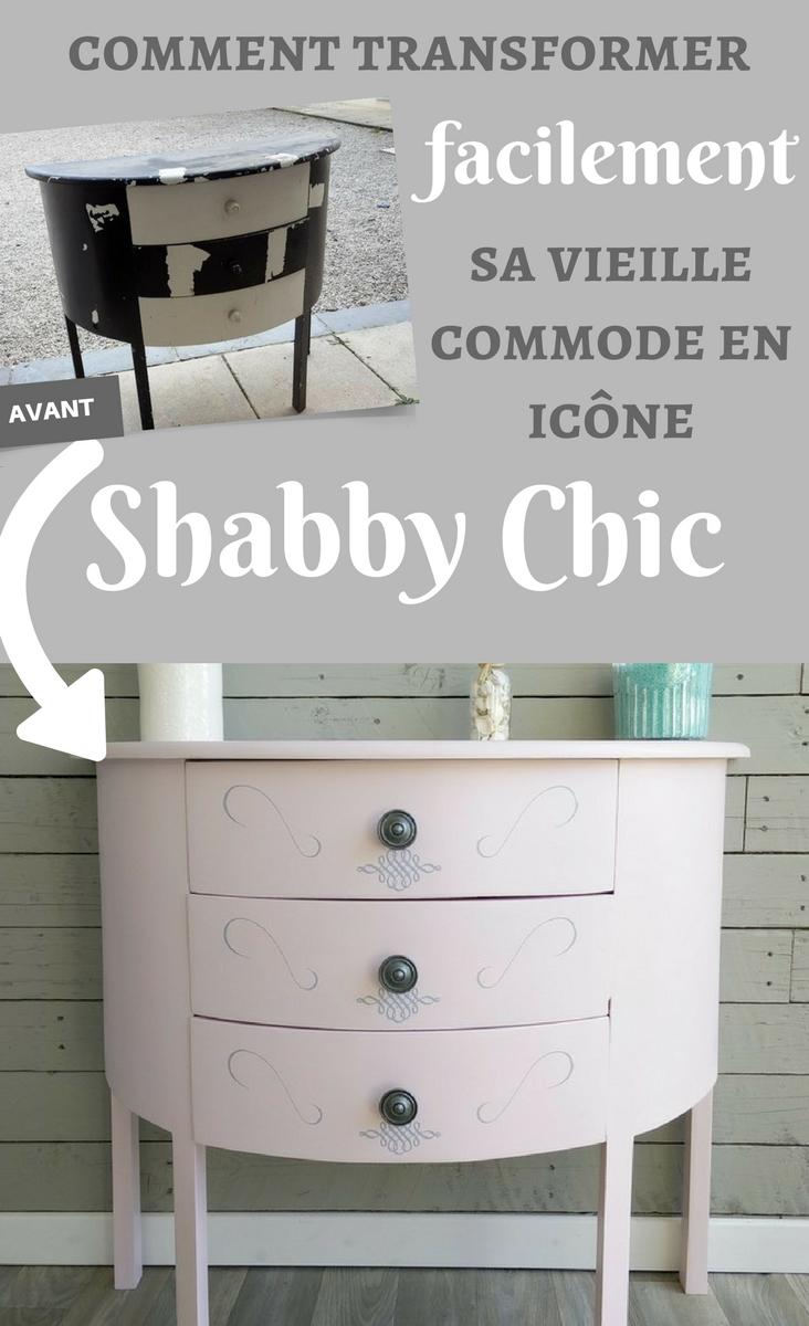 une commode qui passe du triste au shabby chic l 39 atelier de mat. Black Bedroom Furniture Sets. Home Design Ideas