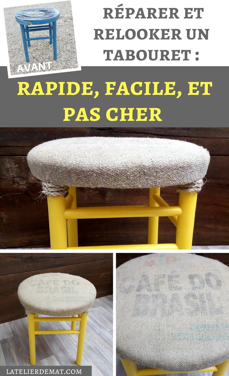 Rajeunir Tabouret De Étapes ParL'atelier Mat Un Réparer Et UVpzSM