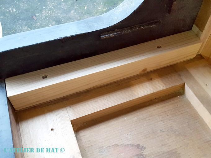Lot meuble element pour maison de poupee miniature bois piano