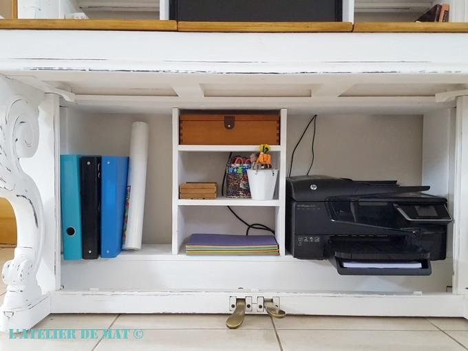 Adapter un piano droit en bureau l atelier de mat
