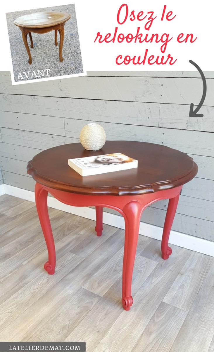 Restyler Une Table Basse Louis Xv Avec De La Couleur L Atelier