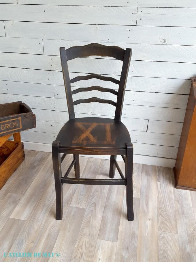 Transformer Une Chaise Paillee En Chaise Bistrot L Atelier De Mat